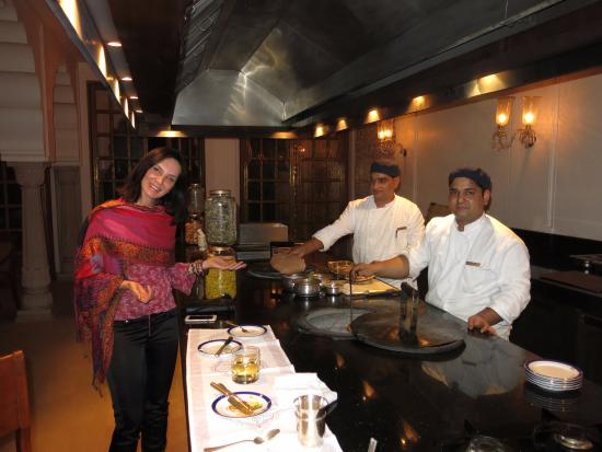 The Oberoi Rajvilas: Private Tandoor Cooking Demo