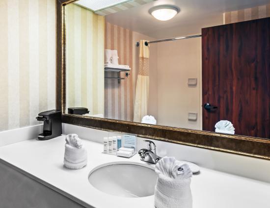 Hampton Inn & Suites Tulsa-Woodland Hills 71st-Memorial : Standard Guest Bathroom
