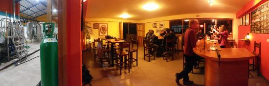Cerveceria del Valle Sagrado: Inside the brewery