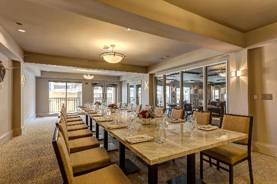 Toll House Hotel: Private Dining Room at Verge Restaurant+Lounge