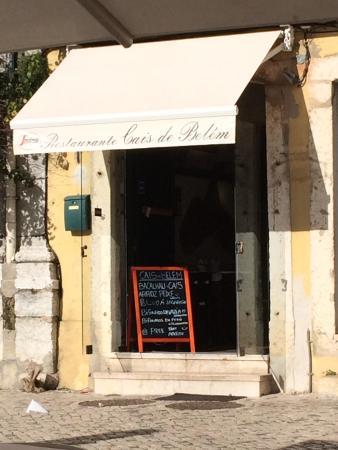 Cais De Belem: Très joli petit restaurant. Typique. Intérieur original