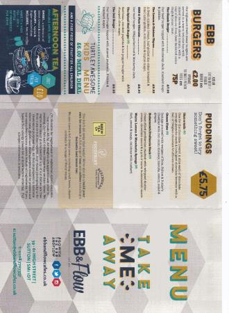 menu 2 picture of ebb flow sutton sutton tripadvisor rh tripadvisor com au