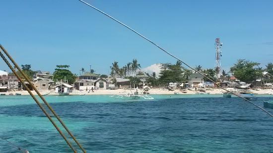 White Sand Bungalows: Anreise mit dem Boot