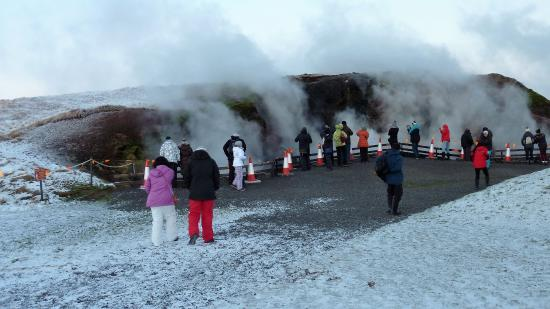 Reykholt, Islandia: Entrance