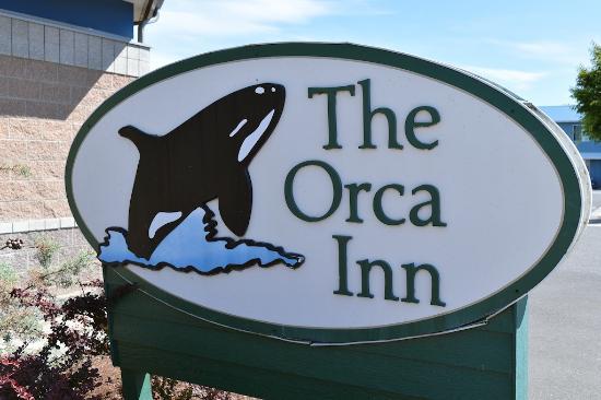 The Orca Inn sign