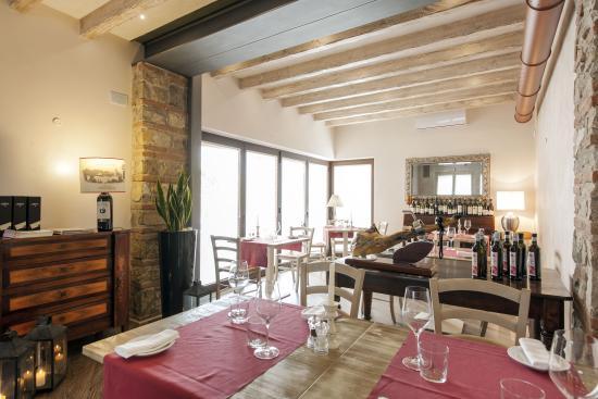 Hotel Noce: saletta ristorante