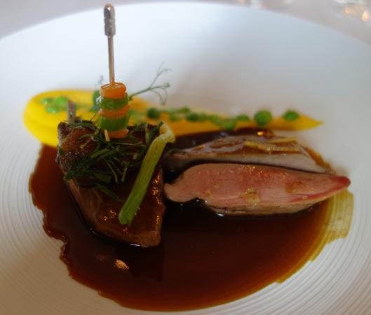Cheval Blanc: Breast of pigeon