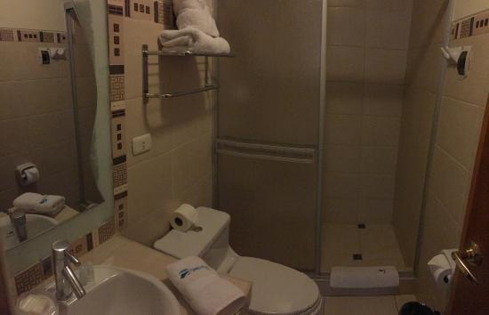 Hotel Unumizu Cusco: Washroom