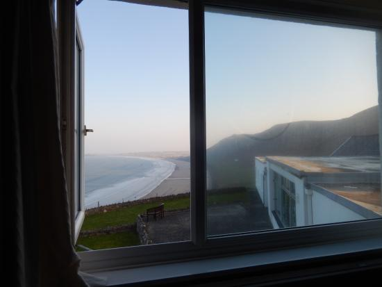 The Worms Head Hotel: view from room