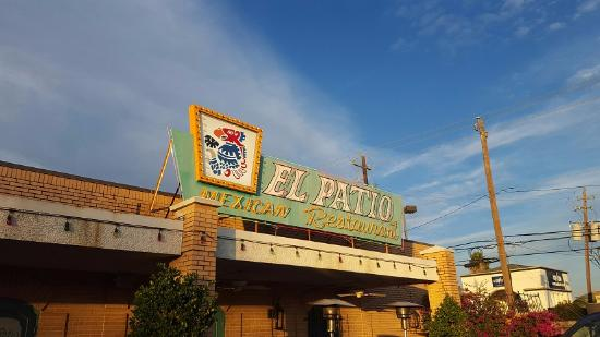 Outside Entrance From The Parking Lot Picture Of El Patio Mexican