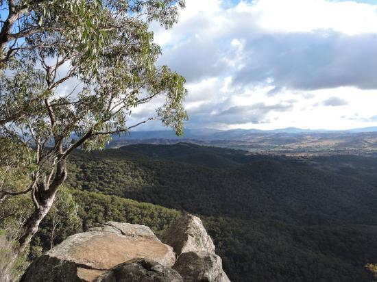 View from Hanging Rock near Nundle