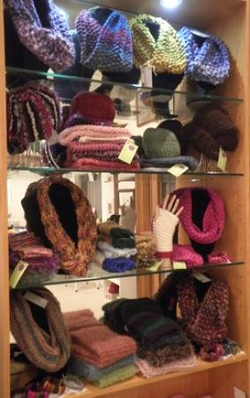 Nundle, Austrália: Beautiful hand knitted wear available in the cooler months by Chris Fensbo from Wattle Tree Lane