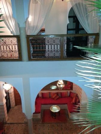 Riad RabahSadia: vista dalla camera