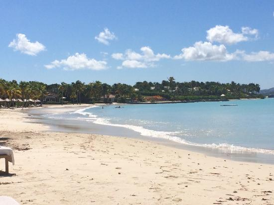 Jumby Bay, A Rosewood Resort: Another view of the beach
