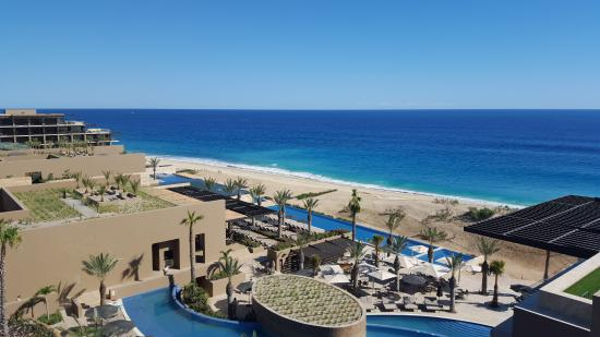 Jw Marriott Los Cabos Beach Resort Spa View From A 3rd Floor Suite