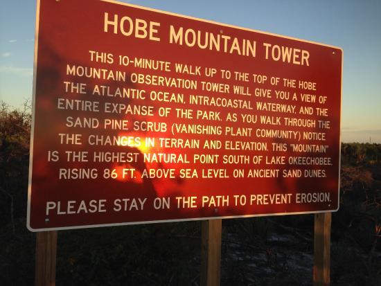 """Hobe Sound, Floryda: Hobe """"Mountain"""" tower"""