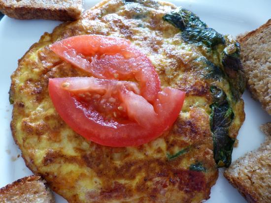 Shanty Cafe: Tortilla Verde (Green Omelette)