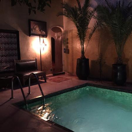 Riad du Petit Prince: Calm in the evening