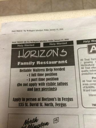 The Horizon Restaurant