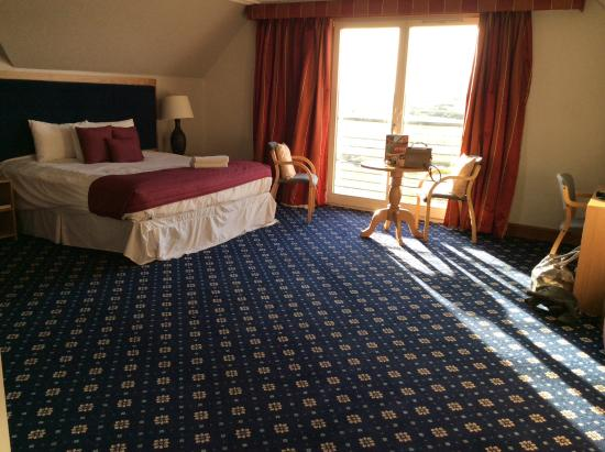 Carnoustie, UK: Lovely large room
