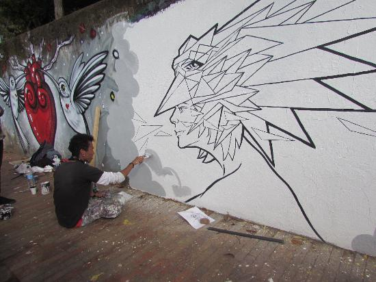 The Original Bogota Graffiti Tour Photo