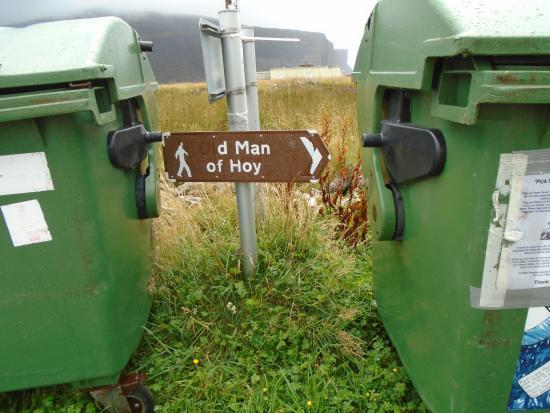 Hoy, UK: Signpost