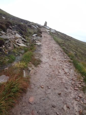 Hoy, UK: Path after the initial hike