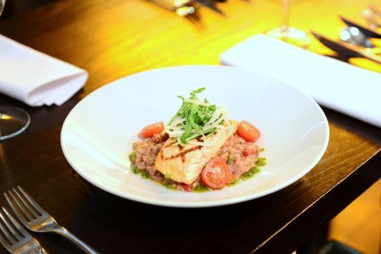 Hucknall, UK: Salmone Rosso