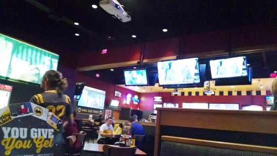 Buffalo Wild Wings: inside