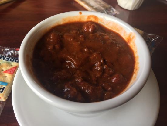 Mahomet, IL: Texas burger and chili