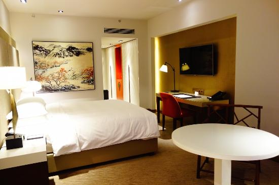 Grand Hyatt Taipei: bedroom