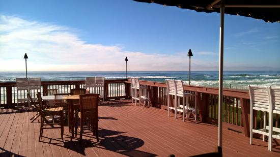Henderson Park Inn: The deck