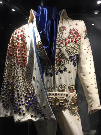 one of the pant suits picture of elvis the exhibition las vegas
