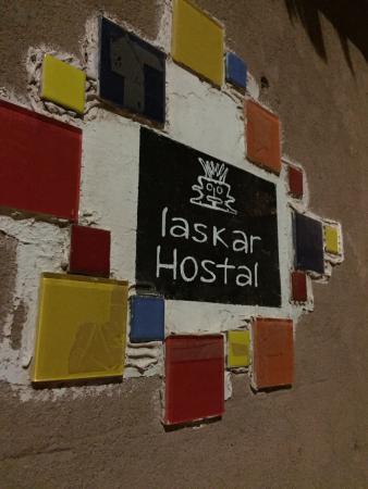 Hostal Laskar: Logo