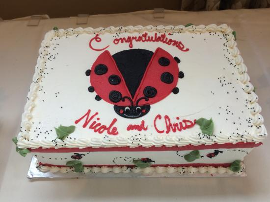 Val's Restaurant & Pizza: Ladybug Baby Shower was great!!