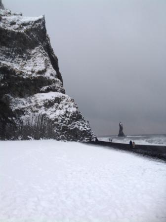 Black Sand Beach: Rock formations