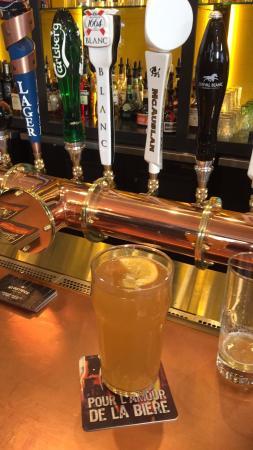 Terrebonne, Kanada: Local beer