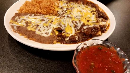 Joshua, TX: enchiladas