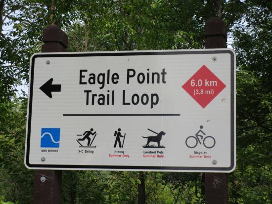 Lake Elmo, MN: Eagle Point trail loop