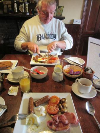 The White Hart: Fabulous breakfast