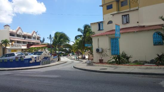 Cafe Sol Mexican Grill and Margarita Bar : Bar from main road