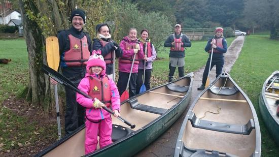 Symonds Yat, UK: Wye Canoes Ltd