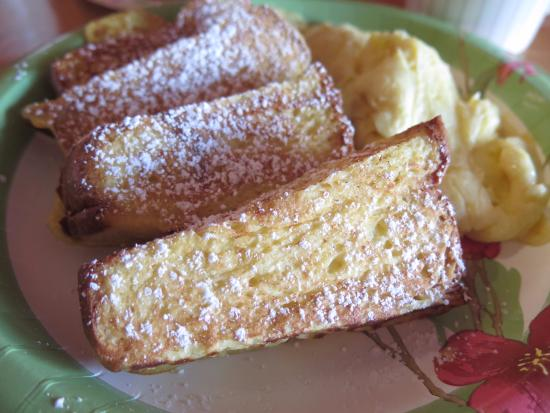 Aloha Deli Ice Cream & Shave Ice: French toast