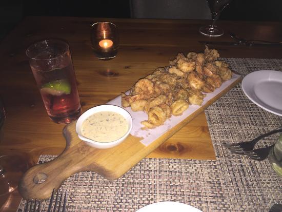 Coda del Pesce: Fried seafood platter