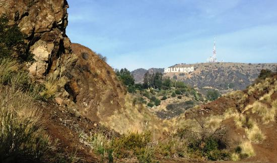 Bronson Caves: Good spot to see the Hollywood sign