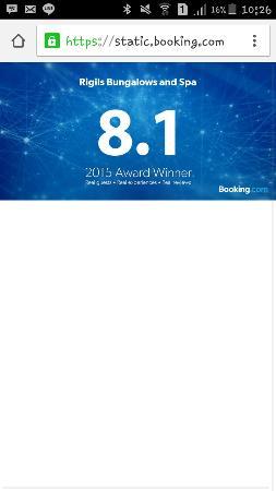 Rigils Lembongan Bungalows: award 2015