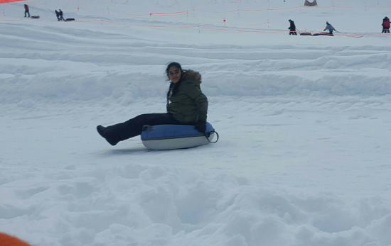Pinecrest, Καλιφόρνια: Leland snow play fun 2016