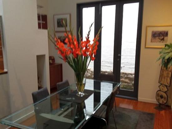 Forsyth Bed & Breakfast: Foyer entrance for guests