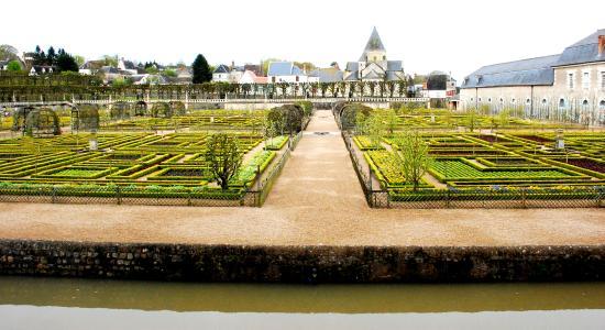 Chateau de Villandry: Part of the vegetable garden