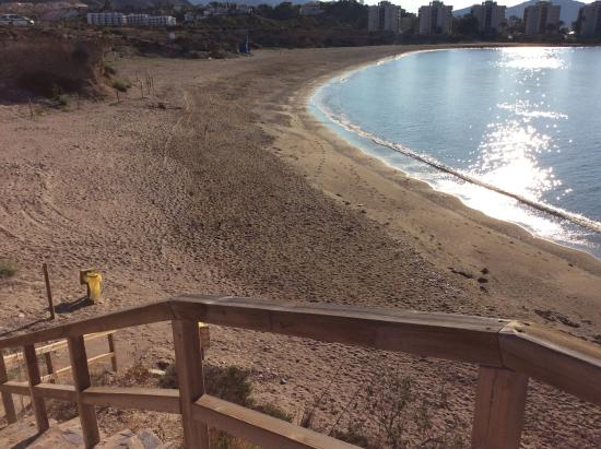 Isla Plana, España: Best beach